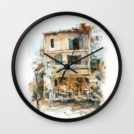 European Cafe Wall Clock