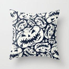 Happy Halloween  pumpkin pattern Throw Pillow