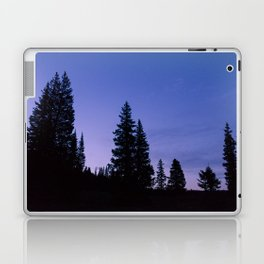 Sunrise Hike on Lake Irwrin Laptop & iPad Skin