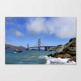 Can't Bridge This Distance Canvas Print