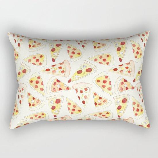 Plenty of Pizza Rectangular Pillow