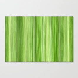 Ambient 3 in Key Lime Green Canvas Print