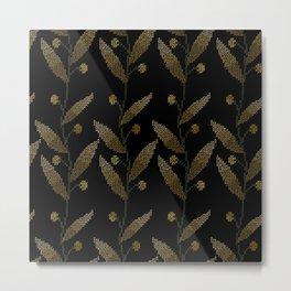 Botany Stitchery Metal Print