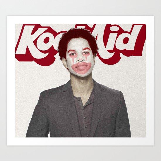 Send Out The Clown Art Print
