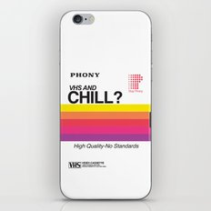 VHS and Chill iPhone & iPod Skin