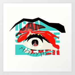 I Can See Forever: Cover B Art Print