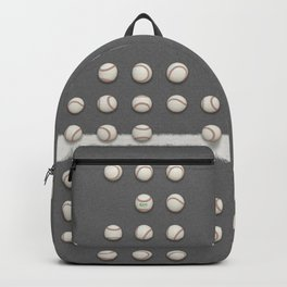 Balls On Gray Field Backpack