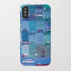 Paris Blues iPhone X Slim Case