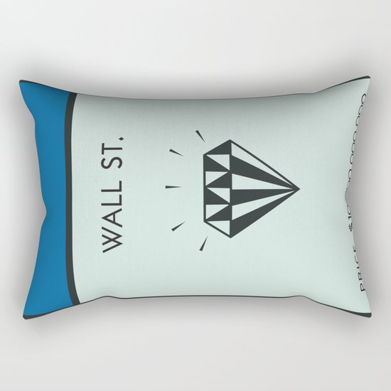 Occupy Wall Street? Rectangular Pillow
