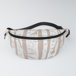 Woodcut Birches Fanny Pack