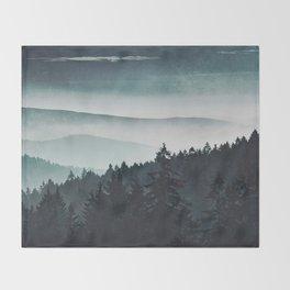 Mountain Light Throw Blanket