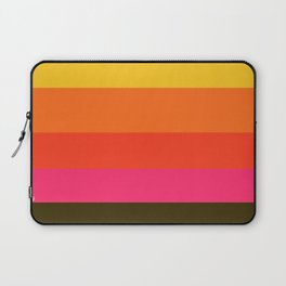 Earth and Summer Sky - Color Strips - Colors of Travel Laptop Sleeve