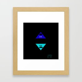 Fear The Beast With Just One Eye  Framed Art Print