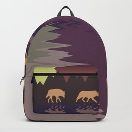 Wolf Pack #9 Backpack
