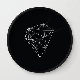 Monochrome Heart Wall Clock