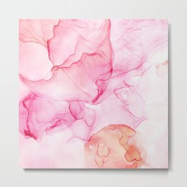 Petal Pinks Metal Print