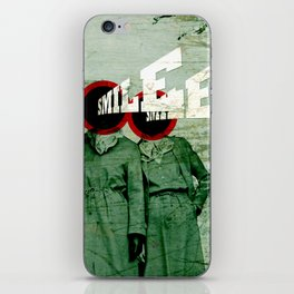 Smile and Enjoy Your Flight iPhone Skin