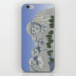 The New Kid on the Rock iPhone Skin