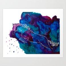 Thunder Art Print