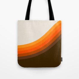 Golden Horizon Diptych - Right Side Tote Bag