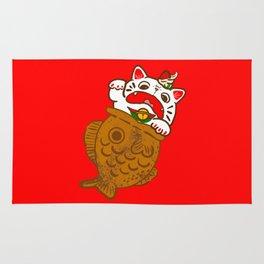Taiyaki Neko Rug