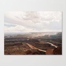 Dead Horse Canyon  Canvas Print