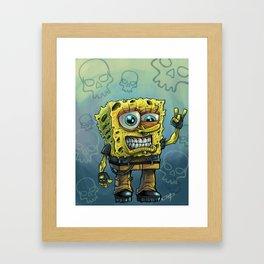 Grunge Bob Framed Art Print