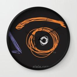 x eye Wall Clock