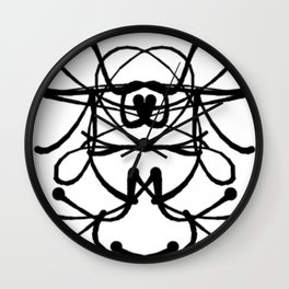 The Imquisitive Girl Wall Clock