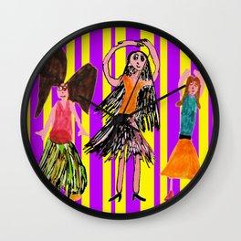 Dance Angel Wall Clock