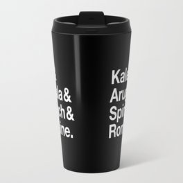 Kale & Arugula & Spinach & Romaine. Travel Mug