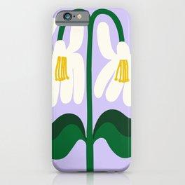 Shiny Happy Flowers iPhone Case