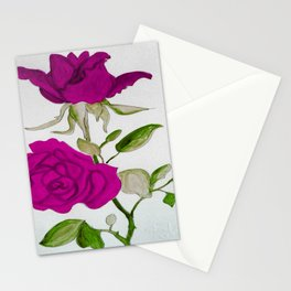 Magnificient Rose Stationery Cards