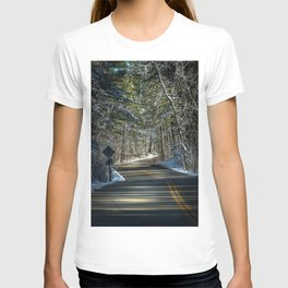 Early Winter in Itasca State Park T-shirt