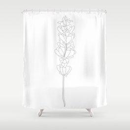 floweret Shower Curtain