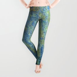 Quiet Moose Magic at Full Moon Leggings