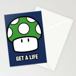 Get a life! Stationery Cards