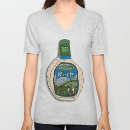 Hidden Valley Original Ranch Dressing Unisex V-Neck