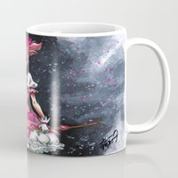 madoka Mugs featuring Madoka Magica by Refrigerator-Art