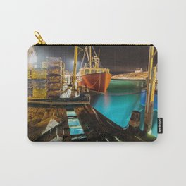 Light in the Wharf Carry-All Pouch