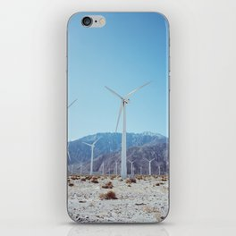Palm Springs Windmills IV iPhone Skin