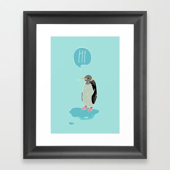 Penguin Framed Art Print