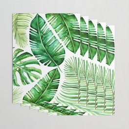 Tropical leaves Wrapping Paper