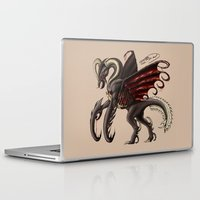 demon Laptop & iPad Skins featuring Demon by Alexiel