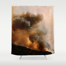 Cedar City Forest Fire - III Shower Curtain