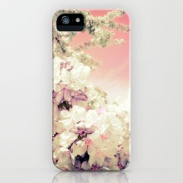 Pink Lavender Flowers iPhone Case