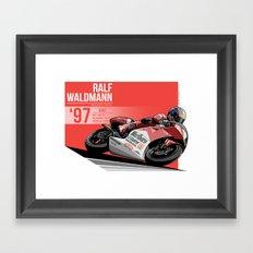 Ralf Waldmann - 1997 Jerez Framed Art Print