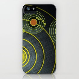 GOLDEN RECORD iPhone Case