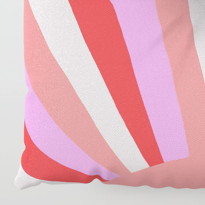 sunshine state, coral Floor Pillow