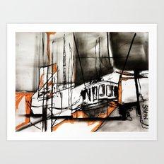 The Trawlers Art Print